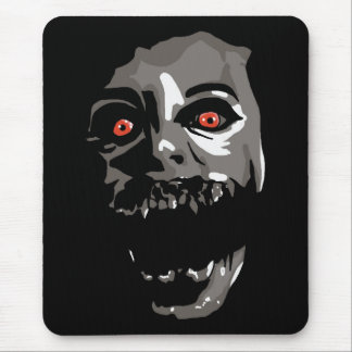 Fright Face Mouse Pad