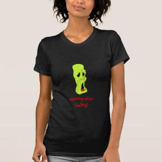Fright Fest Cartoon Ghoul ladies petite t-shirt