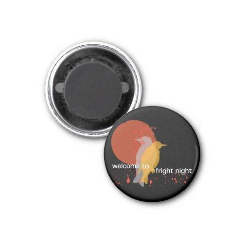 Fright Night 1 Inch Round Magnet