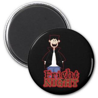 Fright Night Dracula Halloween 2 Inch Round Magnet