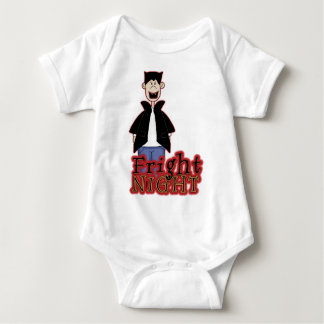 Fright Night Dracula Halloween Baby Bodysuit