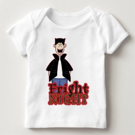 Fright Night Dracula Halloween Baby T-Shirt