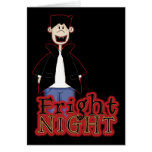Fright Night Dracula Halloween Cards
