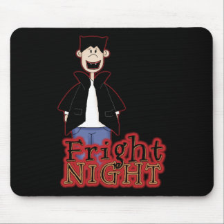 Fright Night Dracula Halloween Mouse Pad