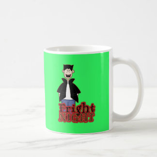 Fright Night Dracula Halloween Classic White Coffee Mug