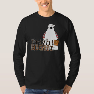 Fright Night Ghost Halloween T Shirt