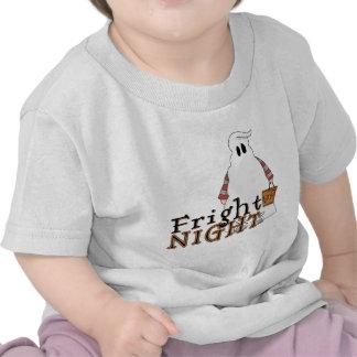 Fright Night Ghost Halloween Tee Shirts