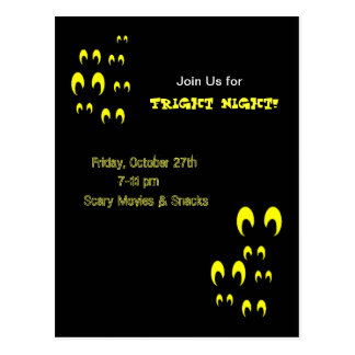 Fright Night Invite! Postcards