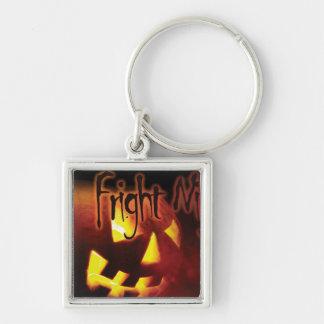 Fright Night on Halloween Keychain