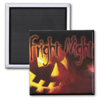 Fright Night on Halloween Magnet