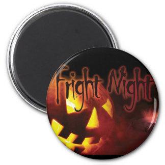 Fright Night on Halloween Magnets