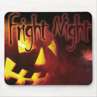 Fright Night on Halloween Mouse Pad