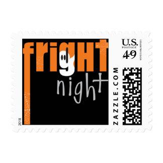 Fright Night Orange Postage Stamp
