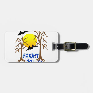 Fright Night Tags For Luggage