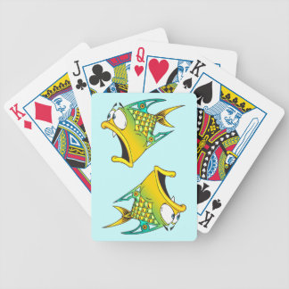 Frightened Fish Playing Cards