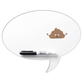 Frightened poo Dry-Erase board
