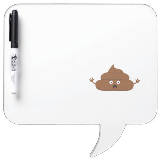Frightened poo dry erase boards