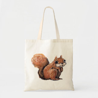 Frightened Squirrel Budget Tote Bag