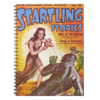 Frightened Swamp Man Notebook