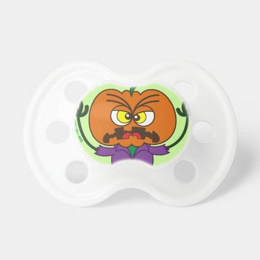 Frightening Halloween Scarecrow Emoticon Pacifiers