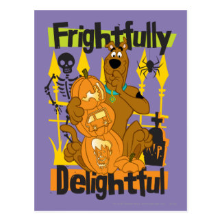 Frightfully Delightful Postcard