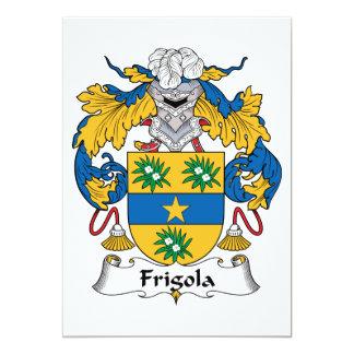 Frigola Family Crest Cards