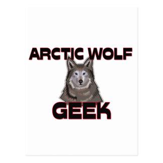 Friki ártico del lobo postal