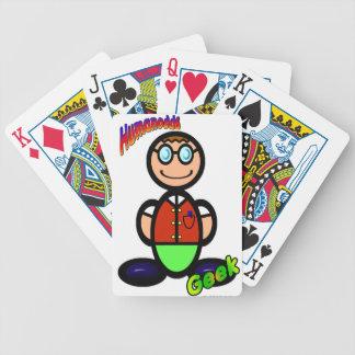 Friki (con los logotipos) baraja cartas de poker