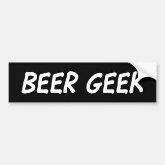 Friki de la cerveza - pegatina pegatina para auto