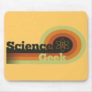Friki de la ciencia mousepads
