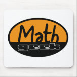 Friki de la matemáticas tapetes de ratón