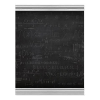Friki de la matemáticas postal