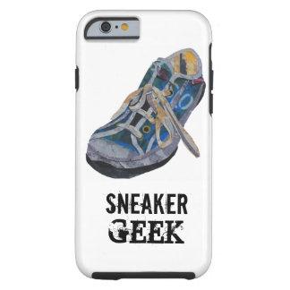 Friki de la zapatilla de deporte funda de iPhone 6 tough