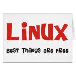 ¡Friki de Linux y más productos y diseños! Felicitacion