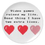 Friki de los videojuegos platos