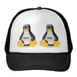 Friki de Tux Linux Gorra