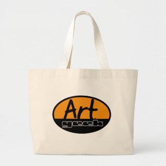 friki del arte bolsa tela grande