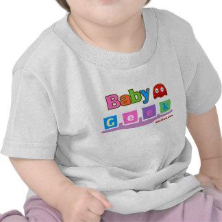 Friki del bebé camisetas
