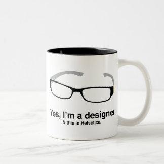 Friki del diseño taza