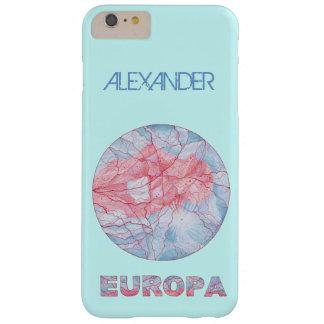 Friki del espacio de la luna de Júpiter del Europa Funda De iPhone 6 Plus Barely There