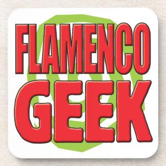 Friki del flamenco posavasos de bebida