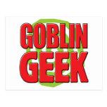 Friki del Goblin Tarjetas Postales