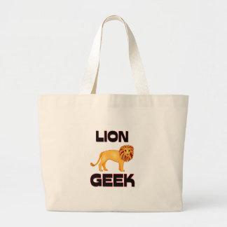 Friki del león bolsas
