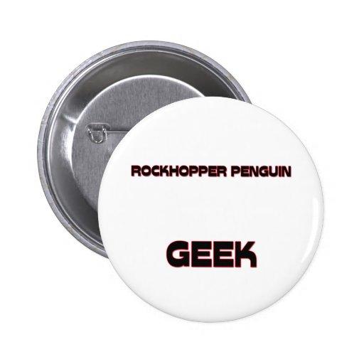Friki del pingüino de Rockhopper Pins