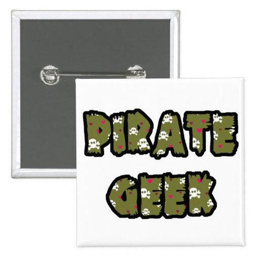 Friki del pirata pins