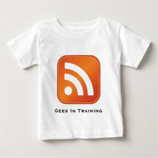Friki del RSS en camiseta del niño del Remeras