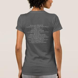Friki del teatro camiseta