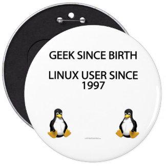 Friki desde nacimiento. Usuario de Linux desde 199 Pin