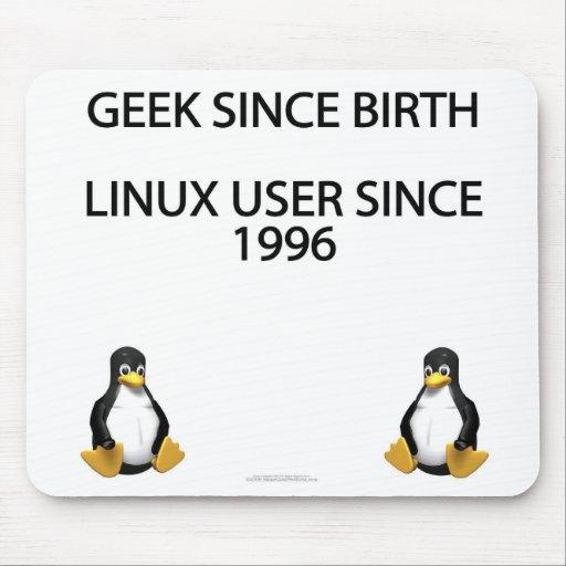 Friki desde nacimiento. Usuario de Linux desde 199 Tapete De Ratones