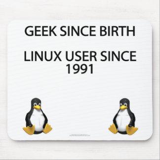 Friki desde nacimiento. Usuario de Linux desde 199 Tapetes De Raton